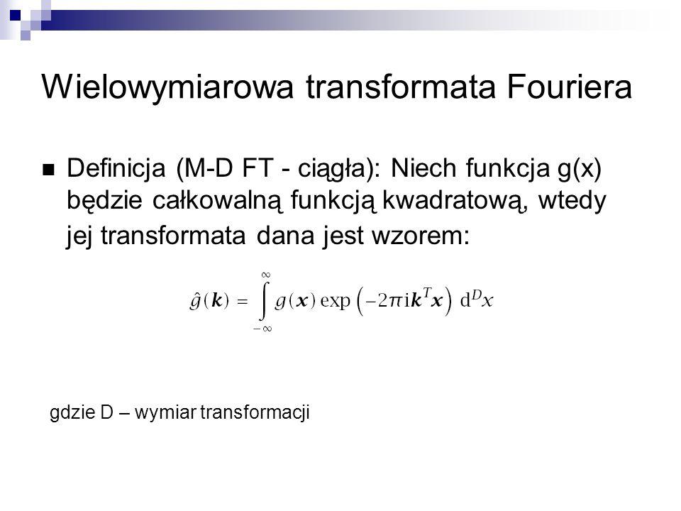 Wielowymiarowa transformata Fouriera