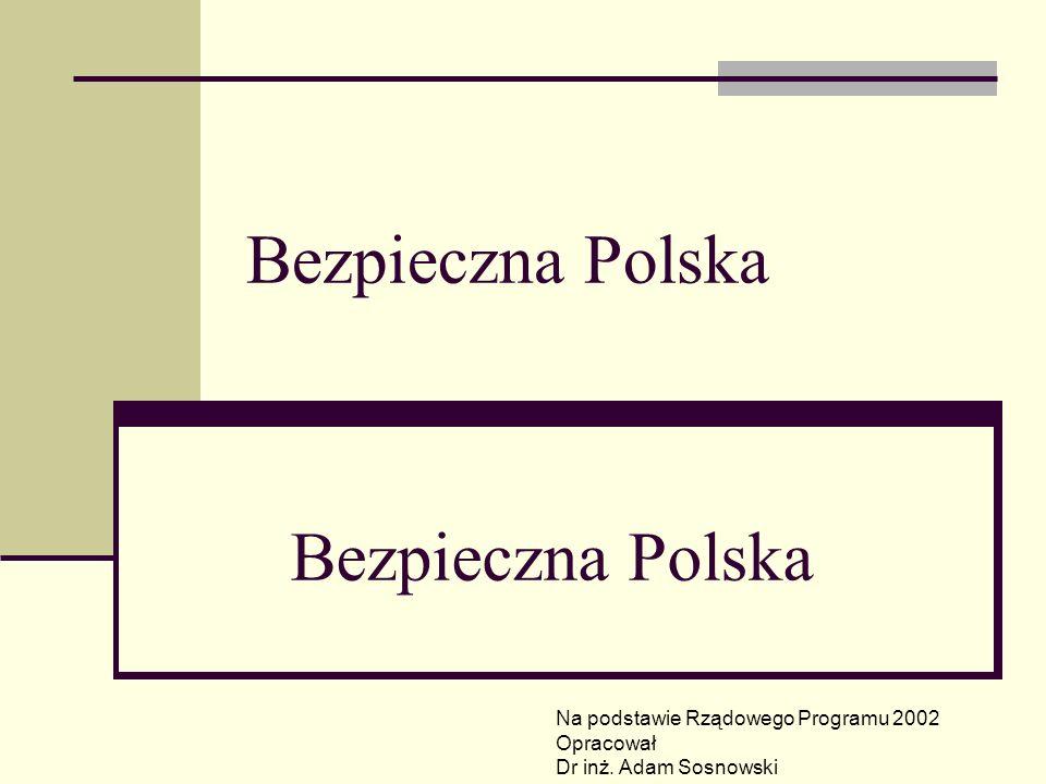 Bezpieczna Polska Bezpieczna Polska