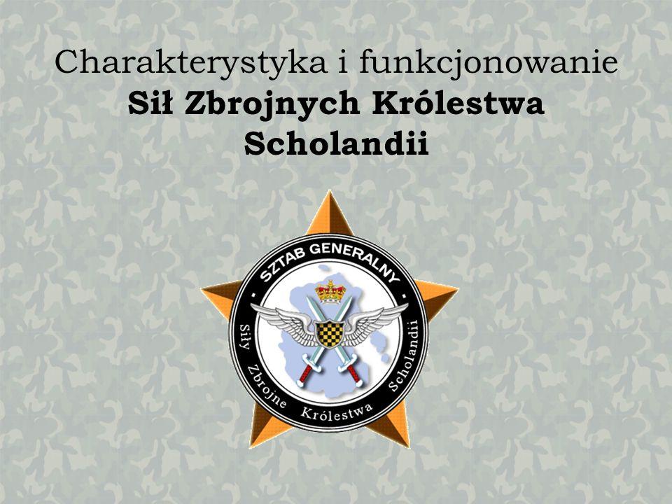 Charakterystyka i funkcjonowanie Sił Zbrojnych Królestwa Scholandii