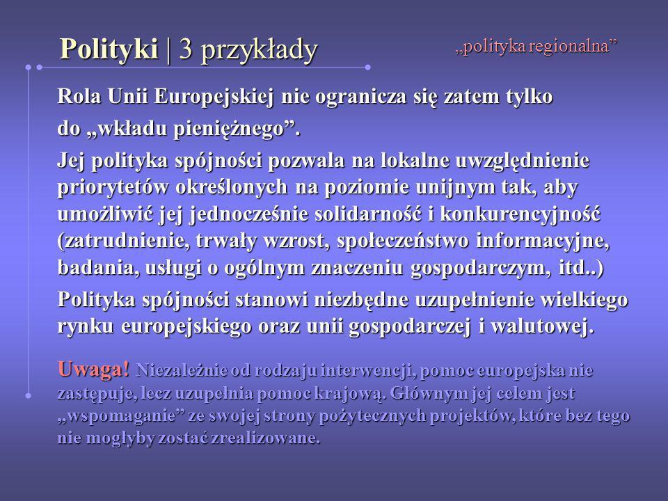 """""""polityka regionalna"""