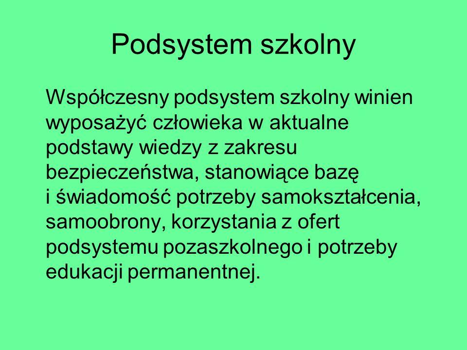 Podsystem szkolny