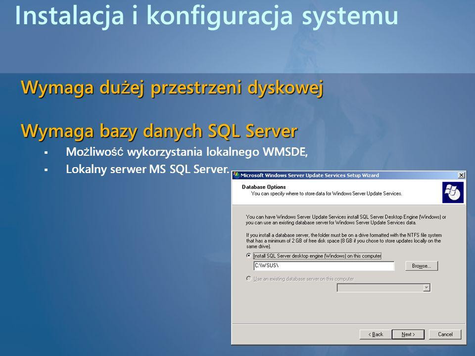 Instalacja i konfiguracja systemu