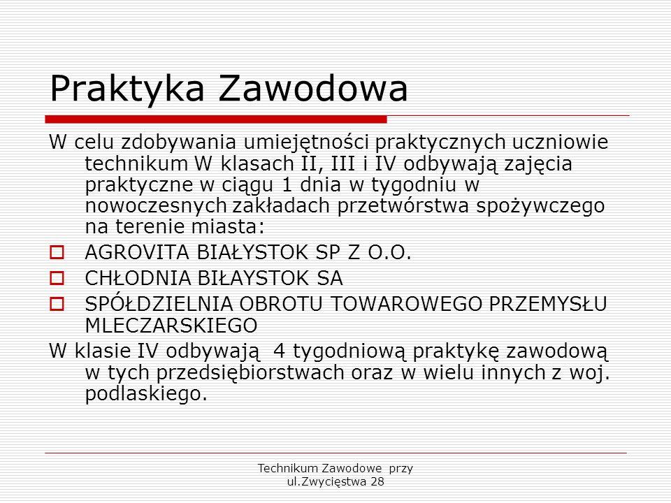 Technikum Zawodowe przy ul.Zwycięstwa 28