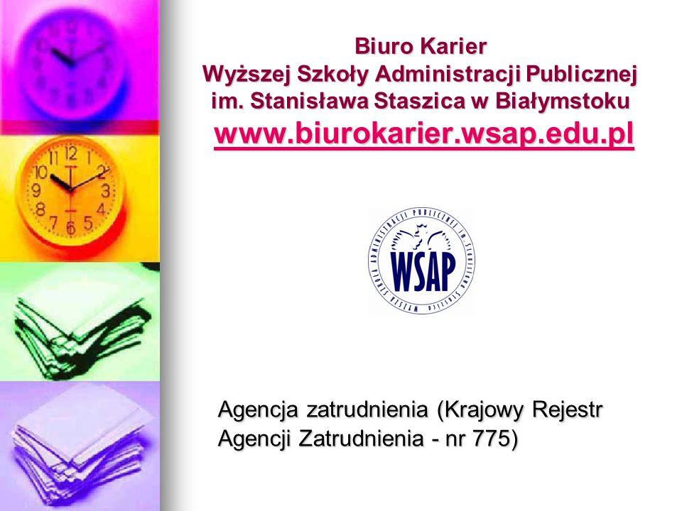 Agencja zatrudnienia (Krajowy Rejestr Agencji Zatrudnienia - nr 775)