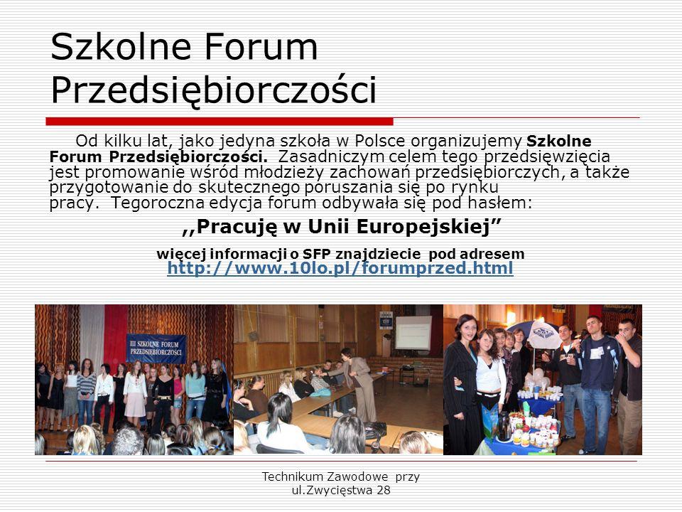 Szkolne Forum Przedsiębiorczości