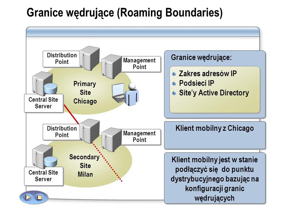 Granice wędrujące (Roaming Boundaries)