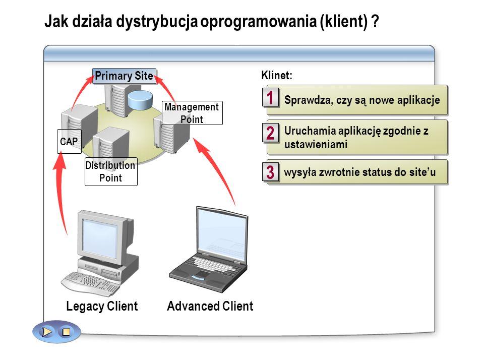 Jak działa dystrybucja oprogramowania (klient)