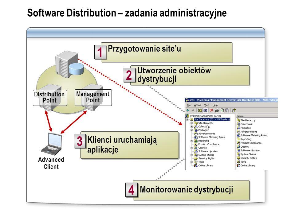 Software Distribution – zadania administracyjne