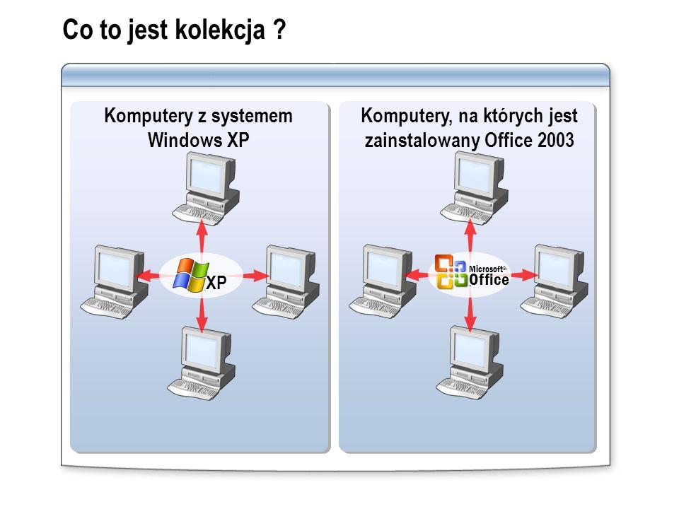Co to jest kolekcja Komputery z systemem Windows XP