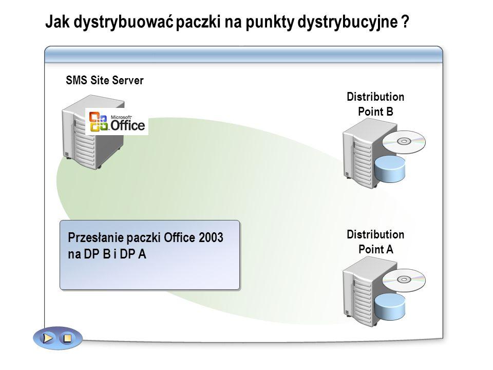 Jak dystrybuować paczki na punkty dystrybucyjne