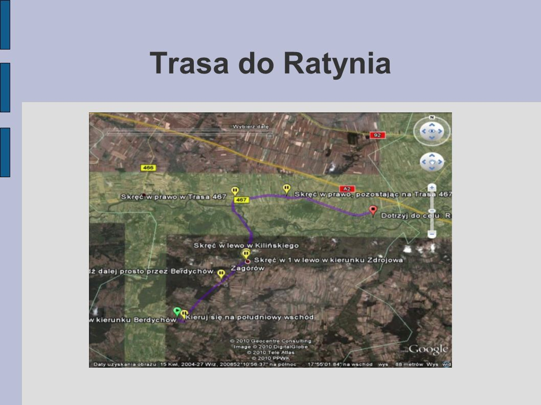 Trasa do Ratynia