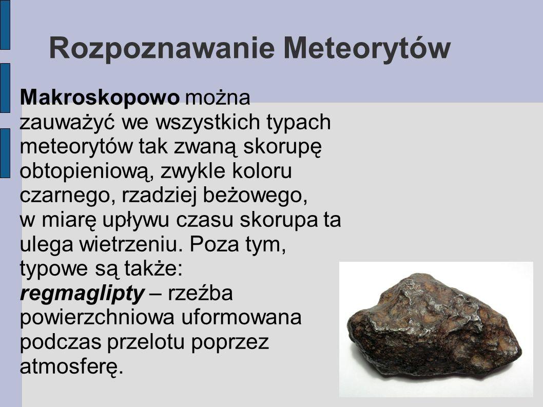 Rozpoznawanie Meteorytów
