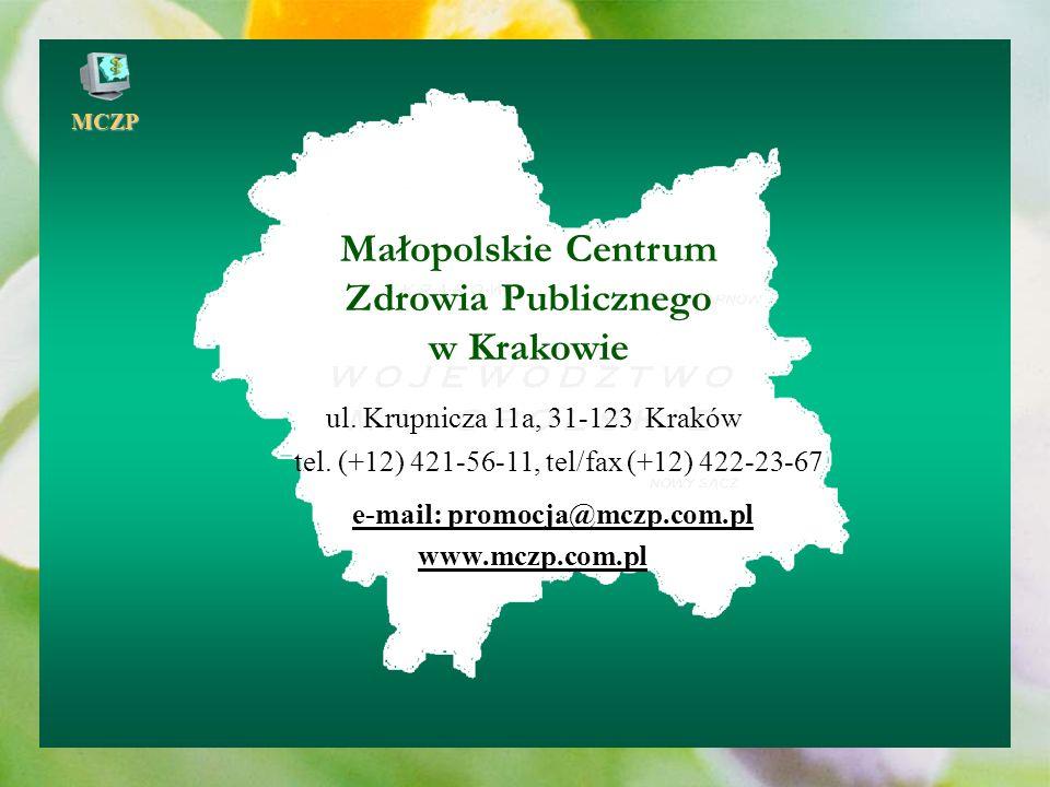 Małopolskie Centrum Zdrowia Publicznego w Krakowie
