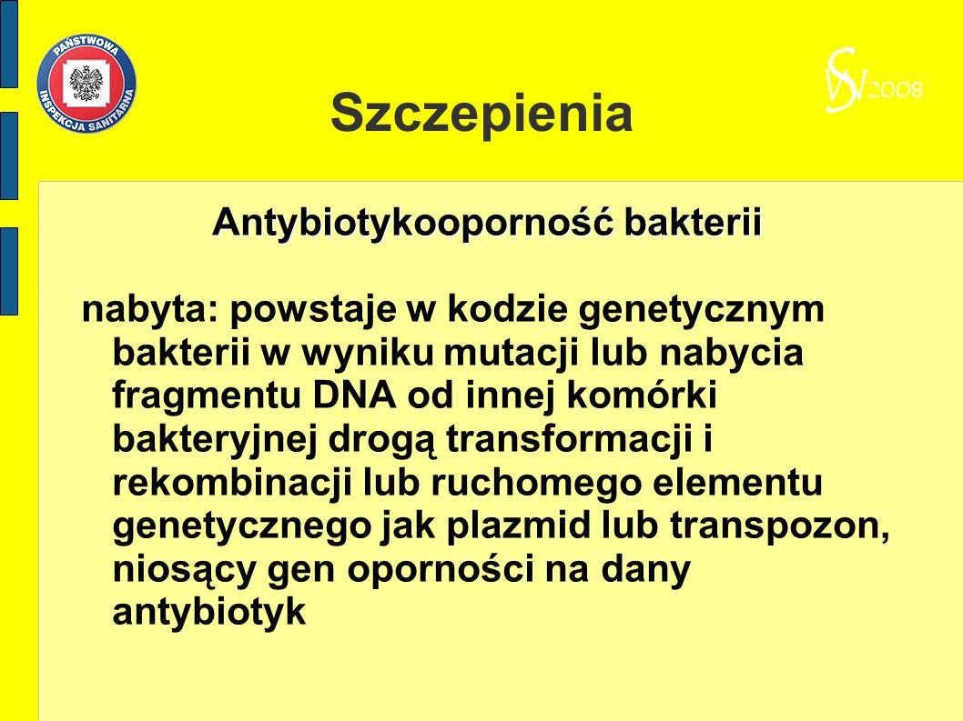 Antybiotykooporność bakterii