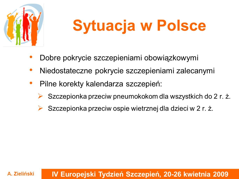 Sytuacja w Polsce Dobre pokrycie szczepieniami obowiązkowymi