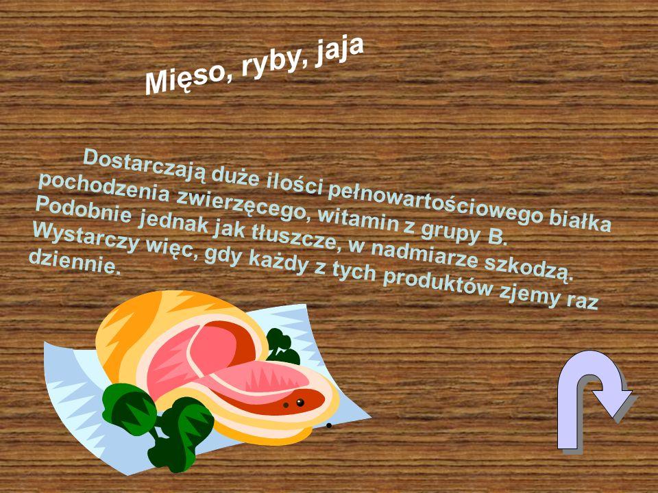Mięso, ryby, jaja