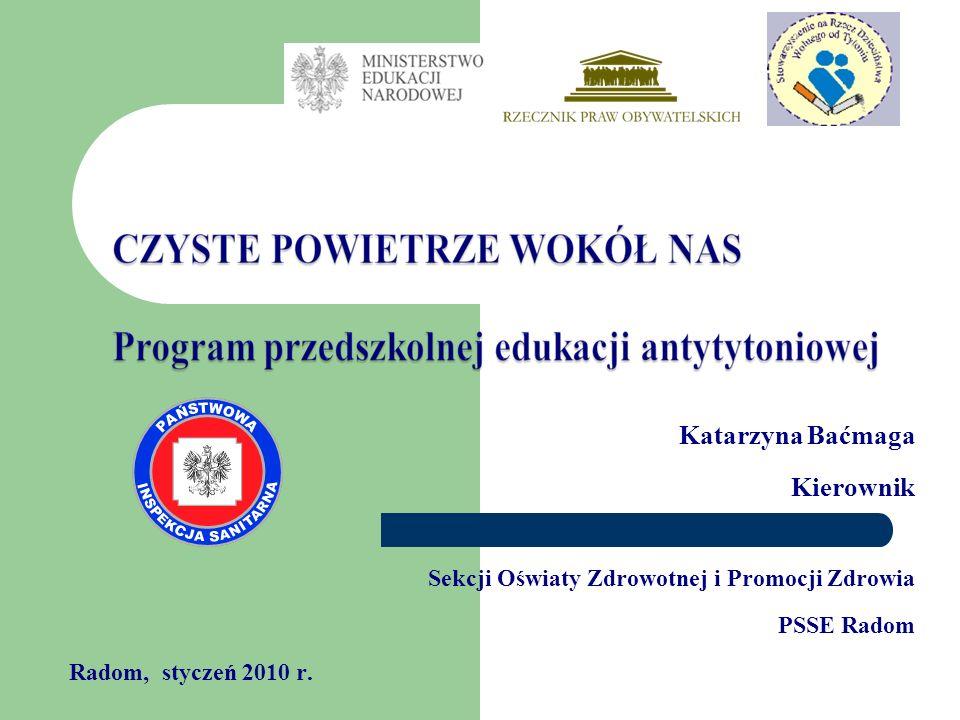 Katarzyna Baćmaga Kierownik