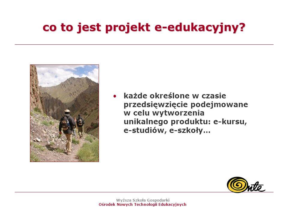 co to jest projekt e-edukacyjny