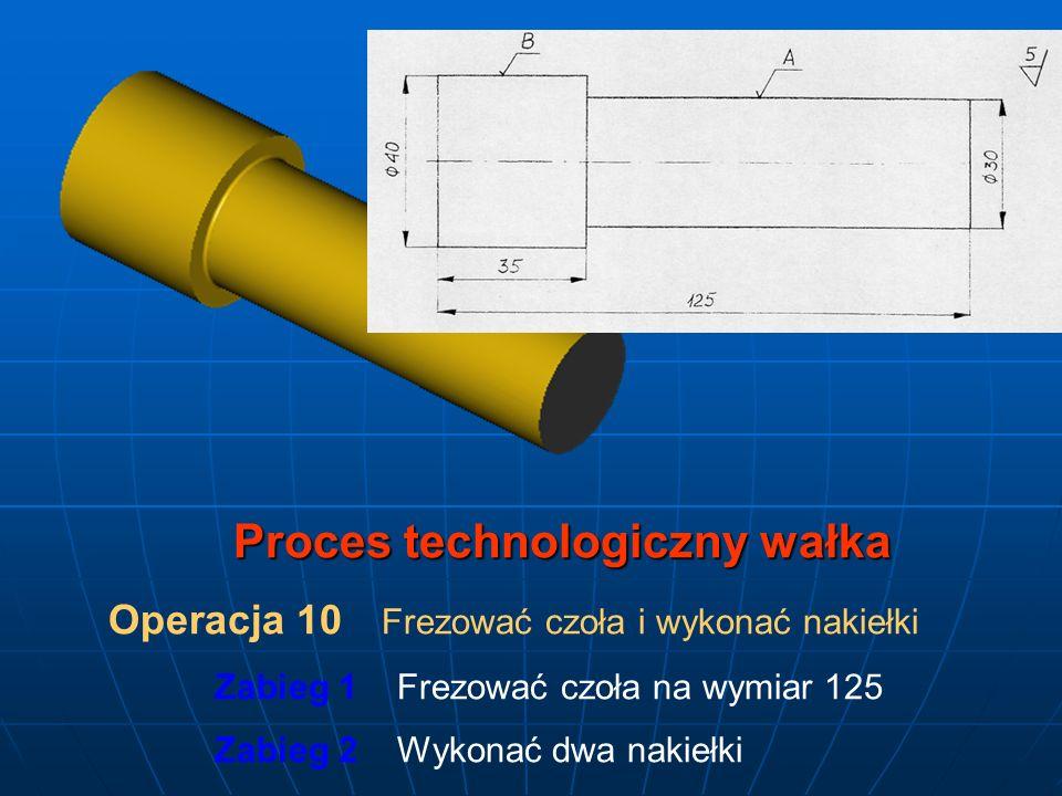 Proces technologiczny wałka