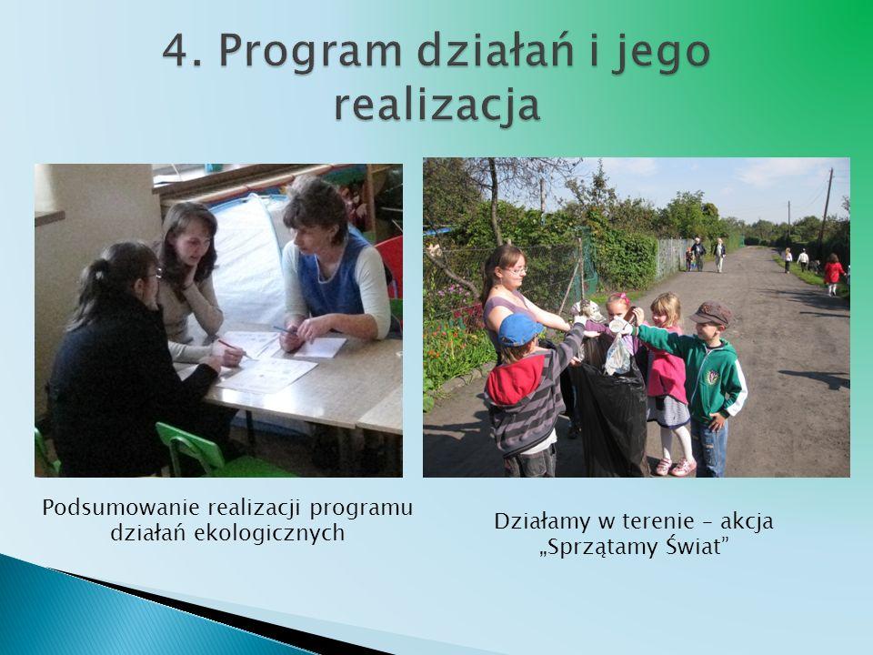 4. Program działań i jego realizacja