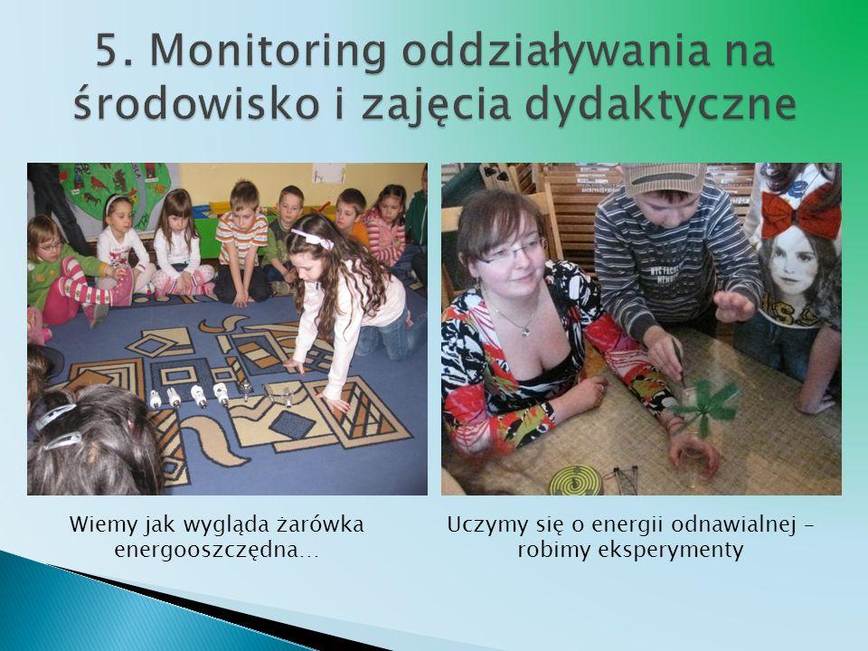 5. Monitoring oddziaływania na środowisko i zajęcia dydaktyczne