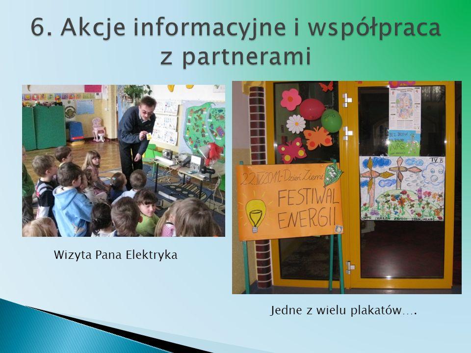 6. Akcje informacyjne i współpraca z partnerami
