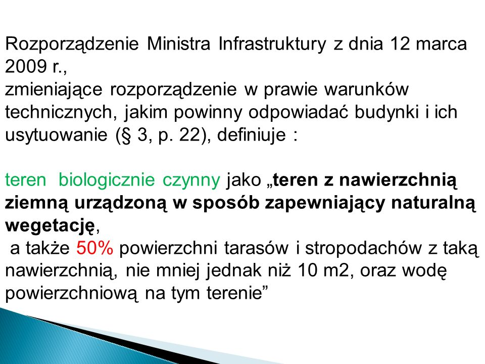 Rozporządzenie Ministra Infrastruktury z dnia 12 marca 2009 r.,