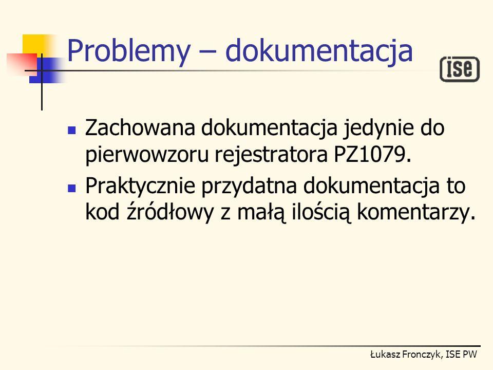 Problemy – dokumentacja
