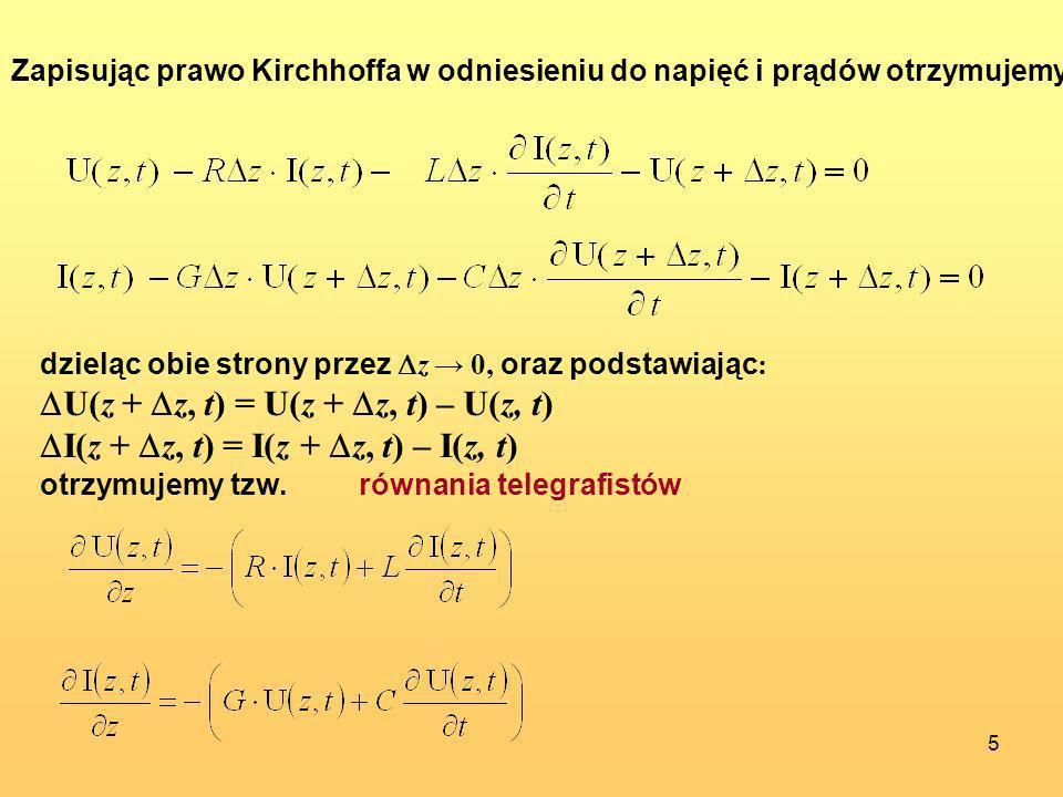 U(z + z, t) = U(z + z, t) – U(z, t)