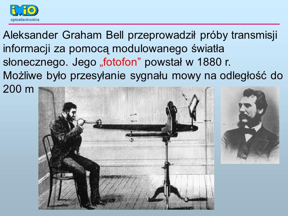 Możliwe było przesyłanie sygnału mowy na odległość do 200 m