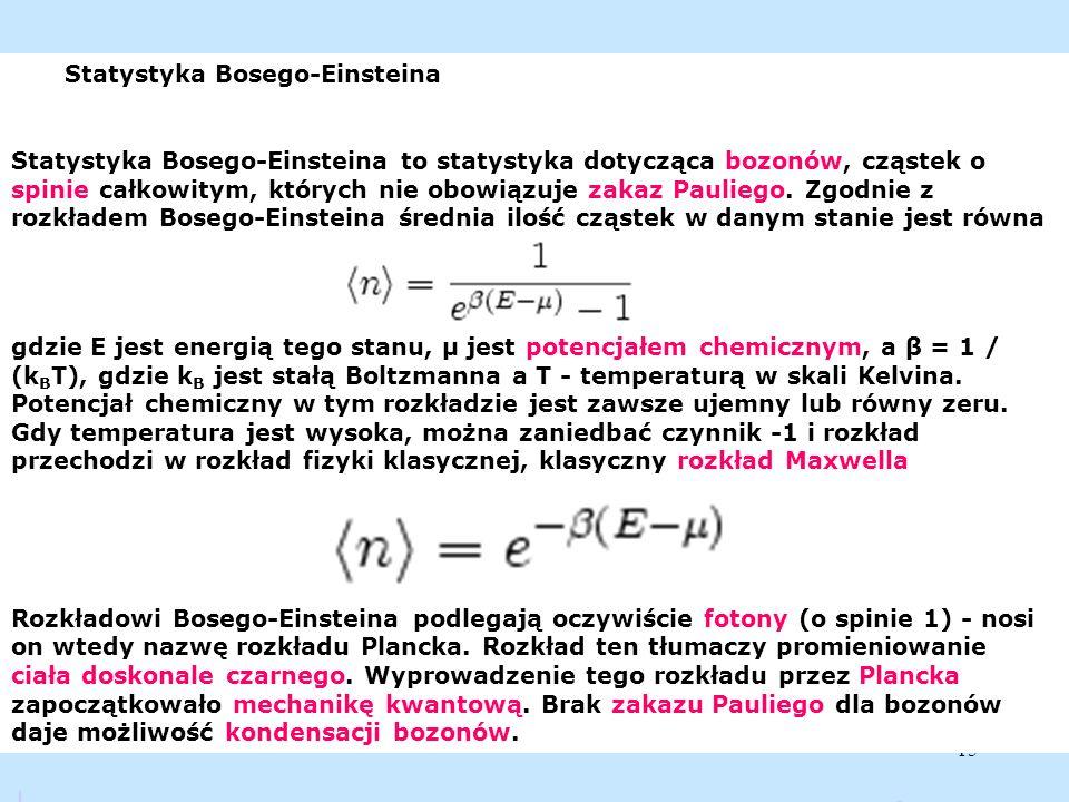 Statystyka Bosego-Einsteina