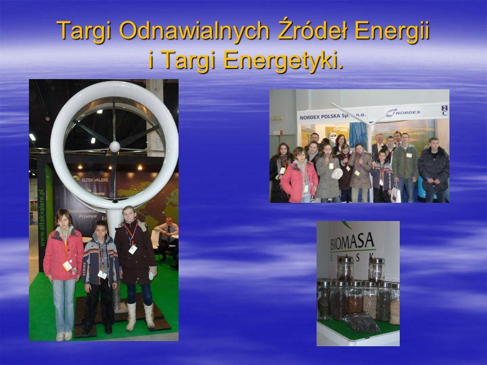 Targi Odnawialnych Źródeł Energii i Targi Energetyki.