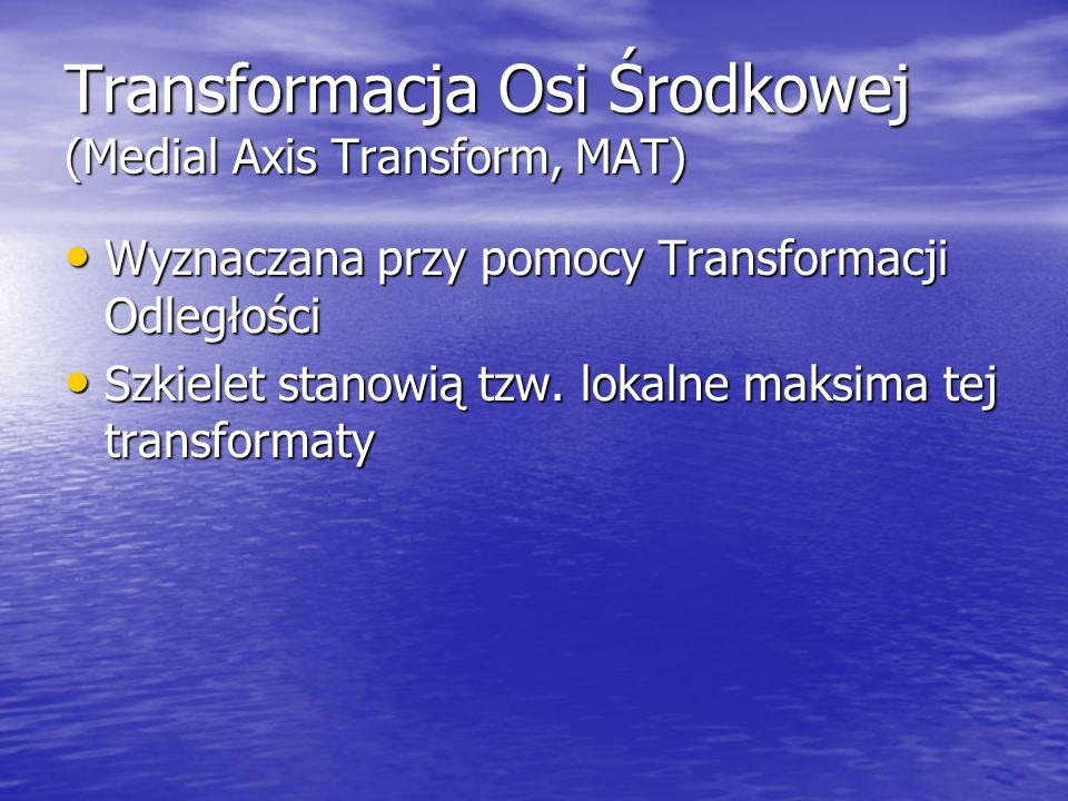 Transformacja Osi Środkowej (Medial Axis Transform, MAT)