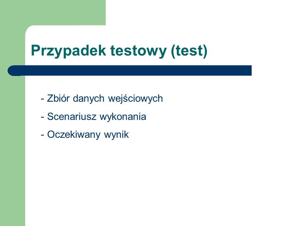 Przypadek testowy (test)