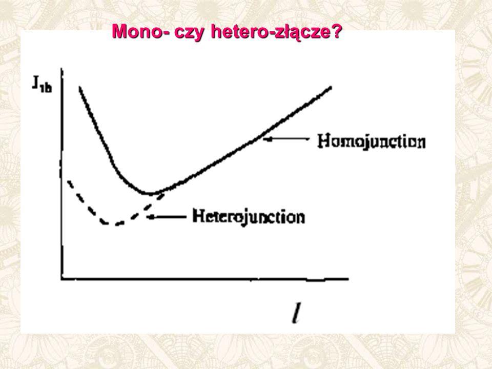 Mono- czy hetero-złącze