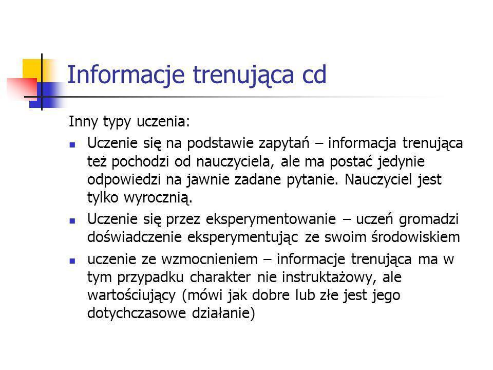 Informacje trenująca cd