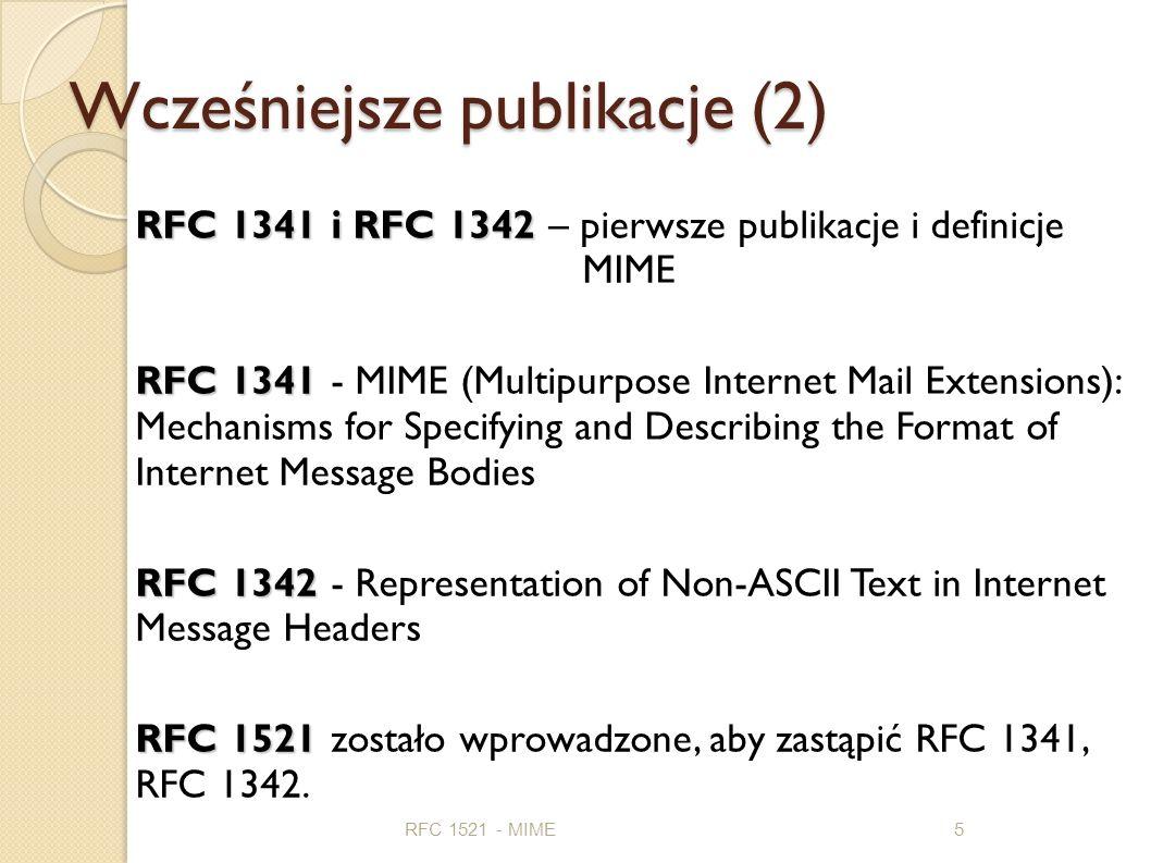 Wcześniejsze publikacje (2)