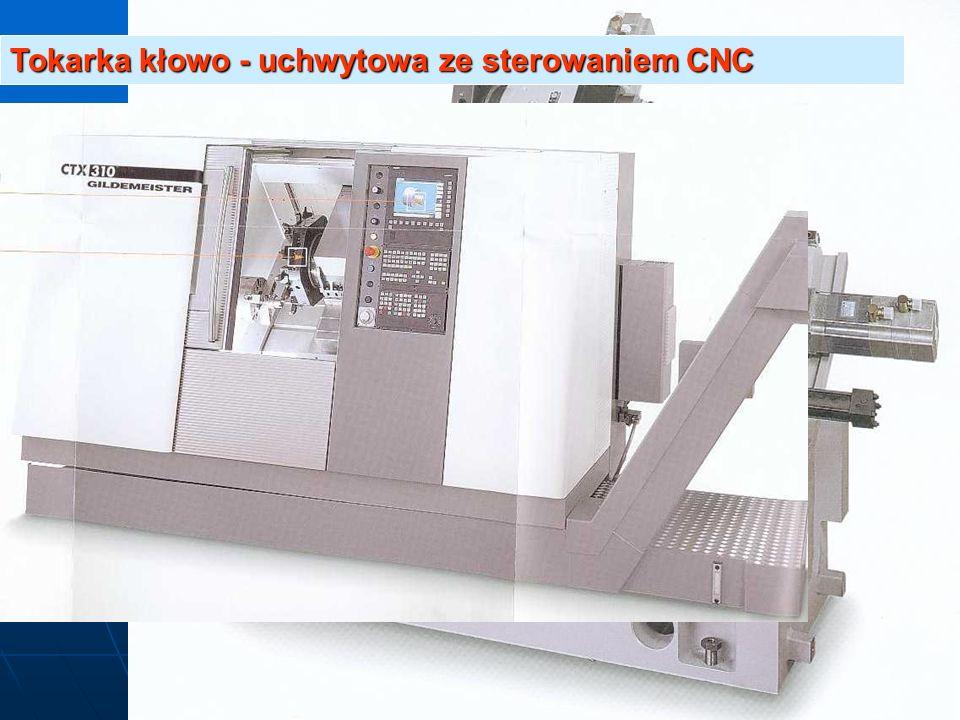 Tokarka kłowo - uchwytowa ze sterowaniem CNC