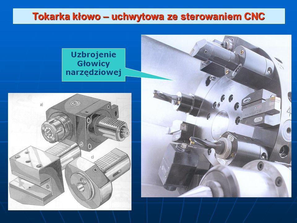 Tokarka kłowo – uchwytowa ze sterowaniem CNC