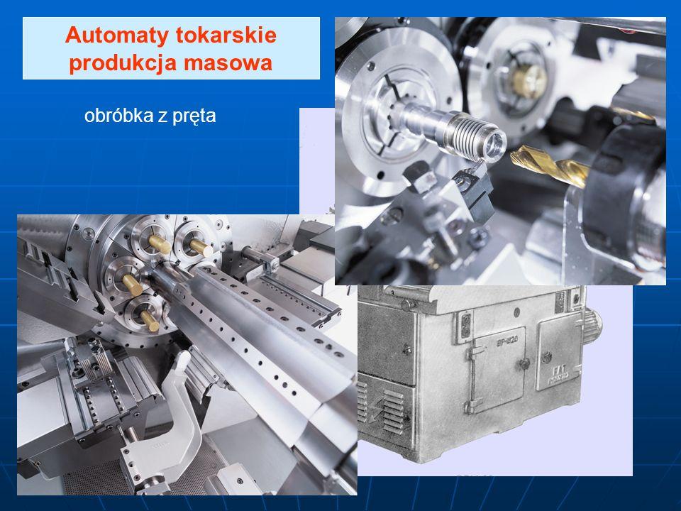 Automaty tokarskie produkcja masowa