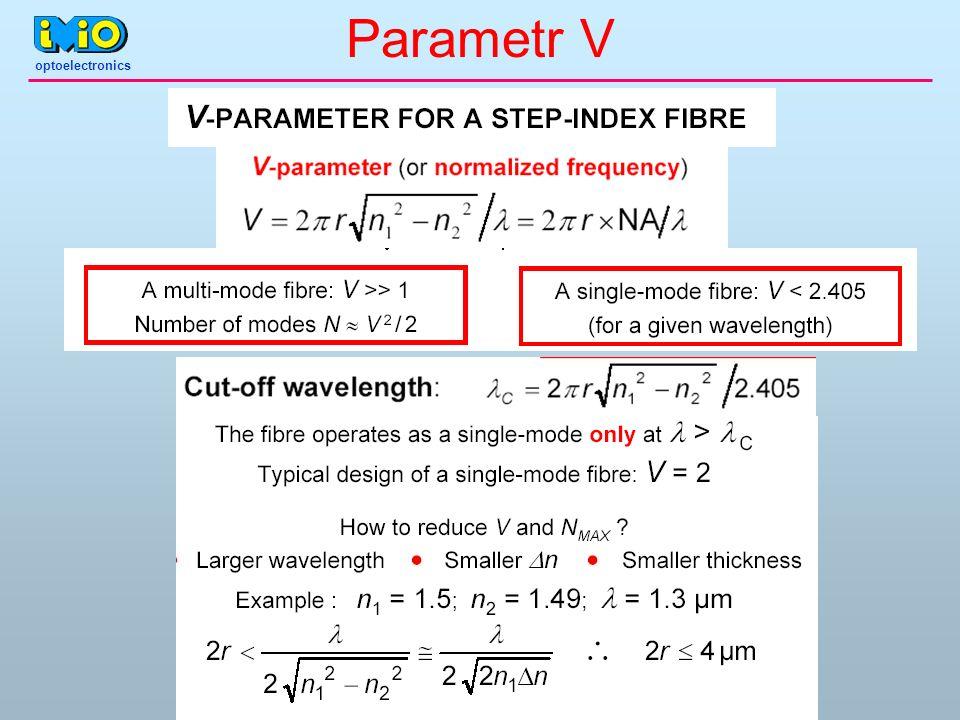 Parametr V optoelectronics