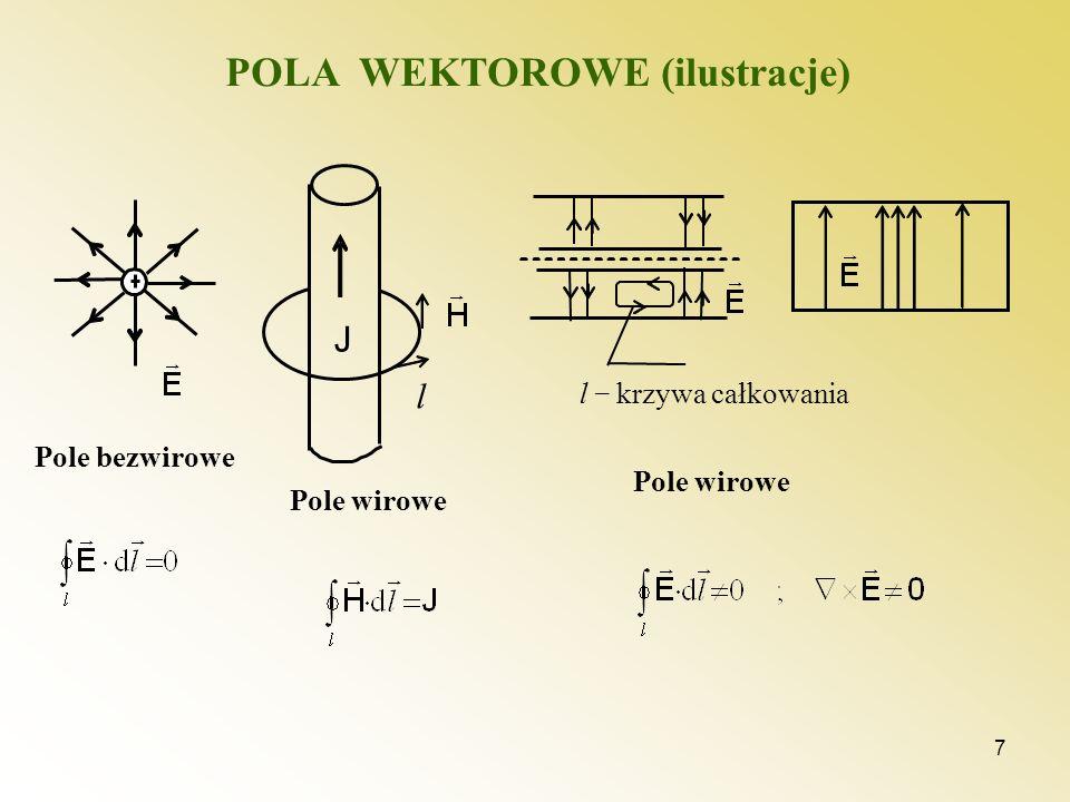 POLA WEKTOROWE (ilustracje)