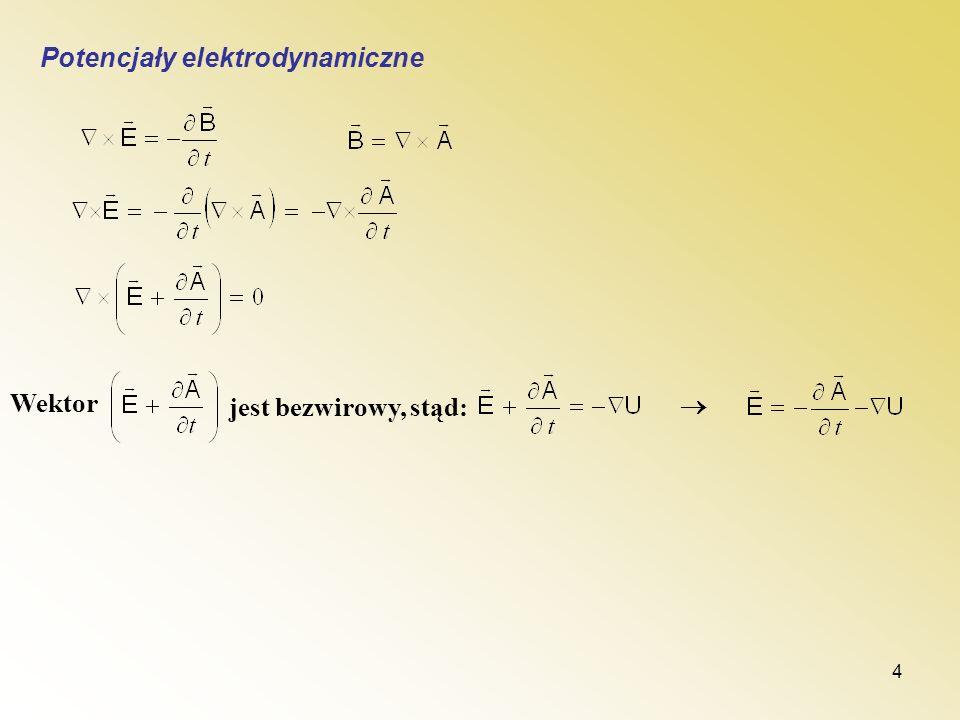 Potencjały elektrodynamiczne