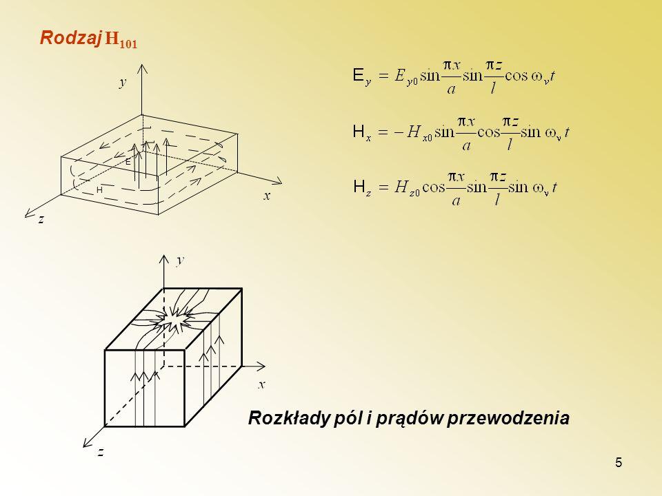 Rozkłady pól i prądów przewodzenia