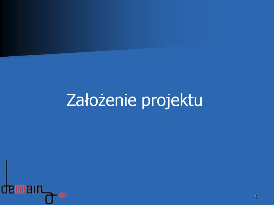 Założenie projektu