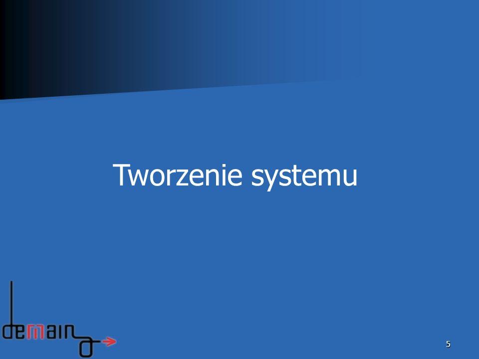 Tworzenie systemu