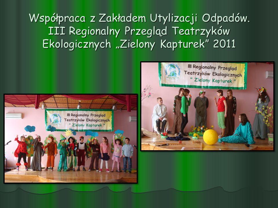 Współpraca z Zakładem Utylizacji Odpadów