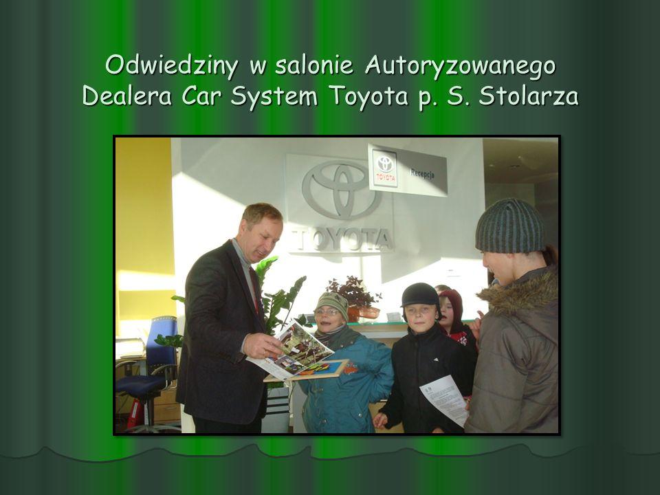 Odwiedziny w salonie Autoryzowanego Dealera Car System Toyota p. S