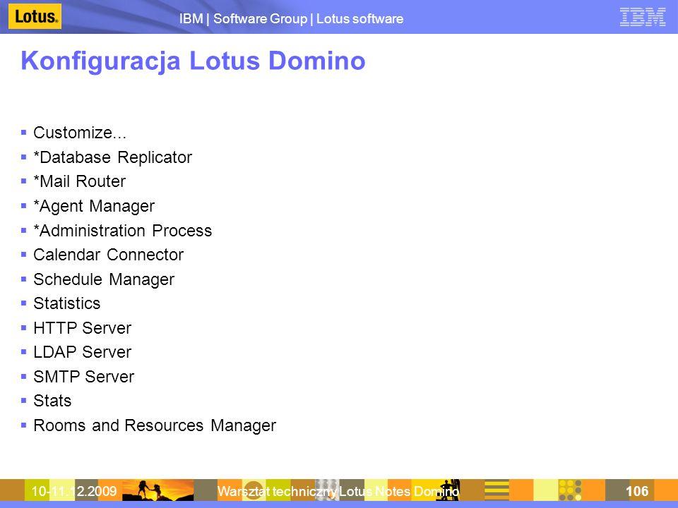 Konfiguracja Lotus Domino