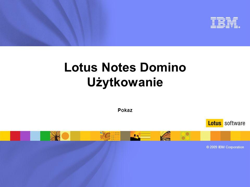 Lotus Notes Domino Użytkowanie